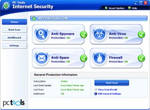 PCTools - PC Tools Internet Security 2009